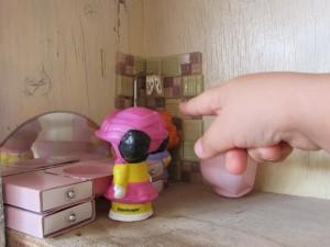 בית בובות - אמבטיה