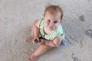 אריאלי בת עשרה חודשים