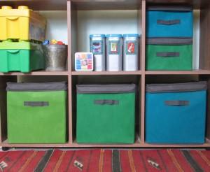 פתרונות אחסון לצעצועי ילדים