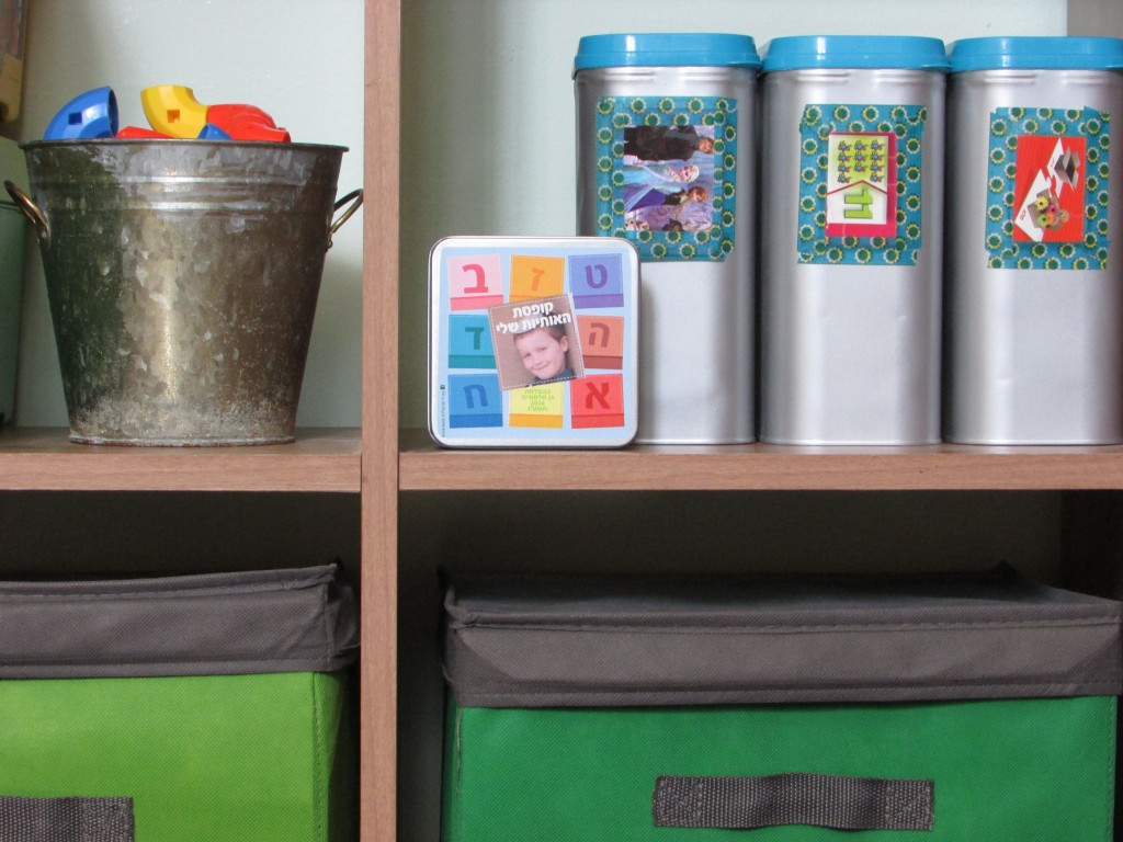 storge for toys - simple diy